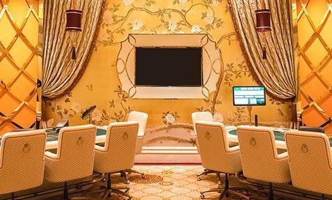 在贵宾庁內 可游玩 百家乐 21点 等 赌场 扑克 游戏