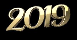 2019_3d font